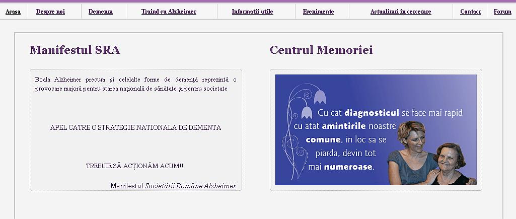 Societatea Romana Alzheimer