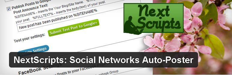 Auto postare facebook Twitter Google+