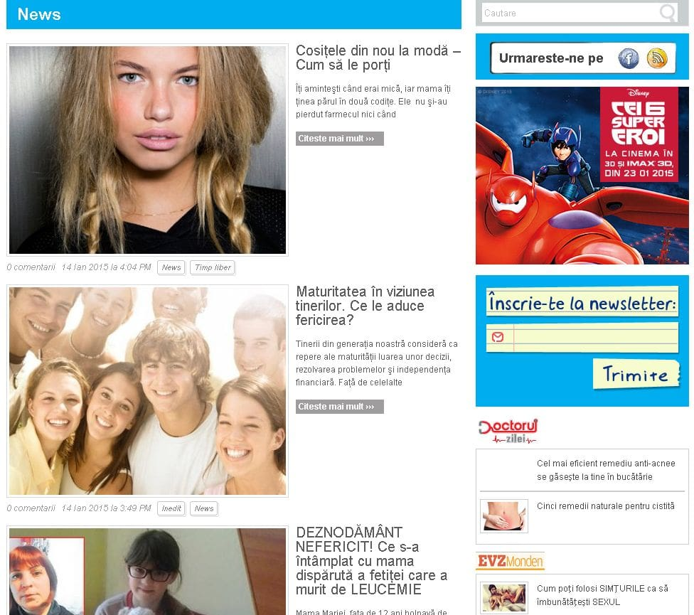 Restilizare starjunior.ro - Wordpress - Sector Web
