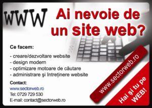 Creare site-uri web & SEO pentru Google