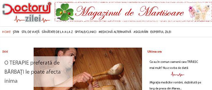Doctorulzilei.ro - portofoliu Sector Web