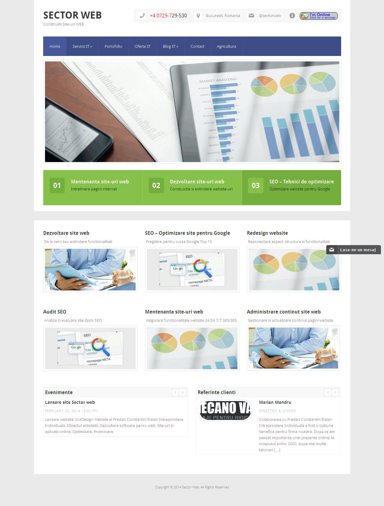 Sector Web - Construim Site-uri WEB