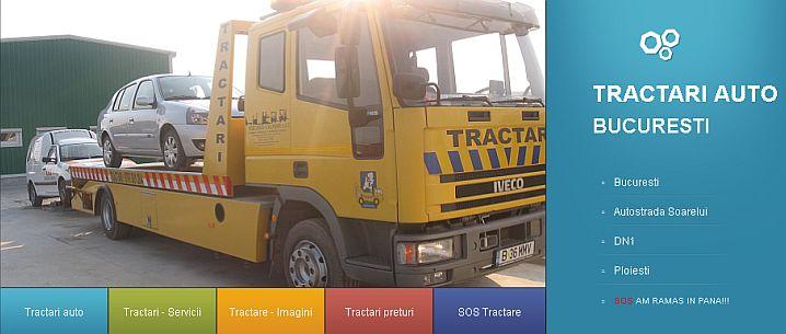Tractariautostop.ro - portofoliu Sector Web