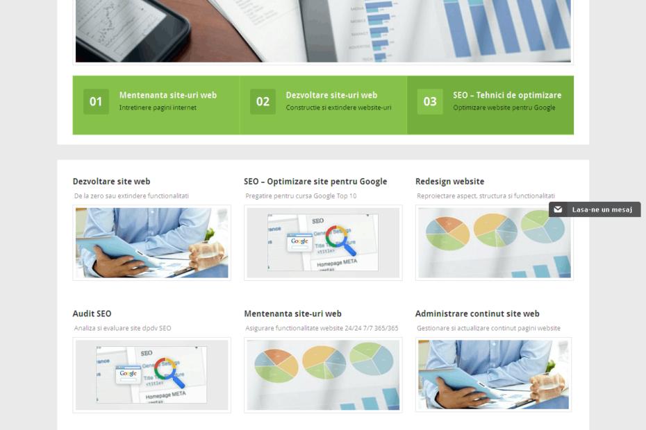 Construim Site-uri WEB - Sector web
