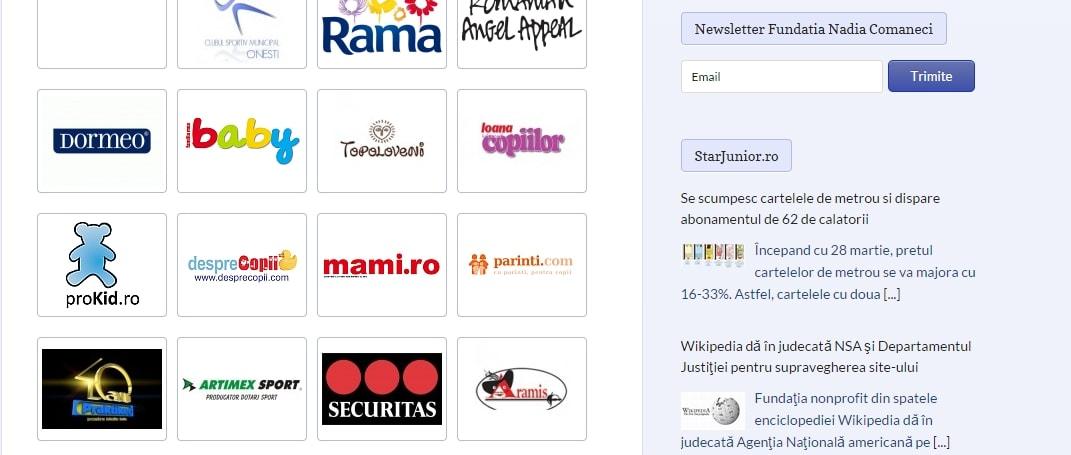 Webdesign - Sector Web - Centrare imagini