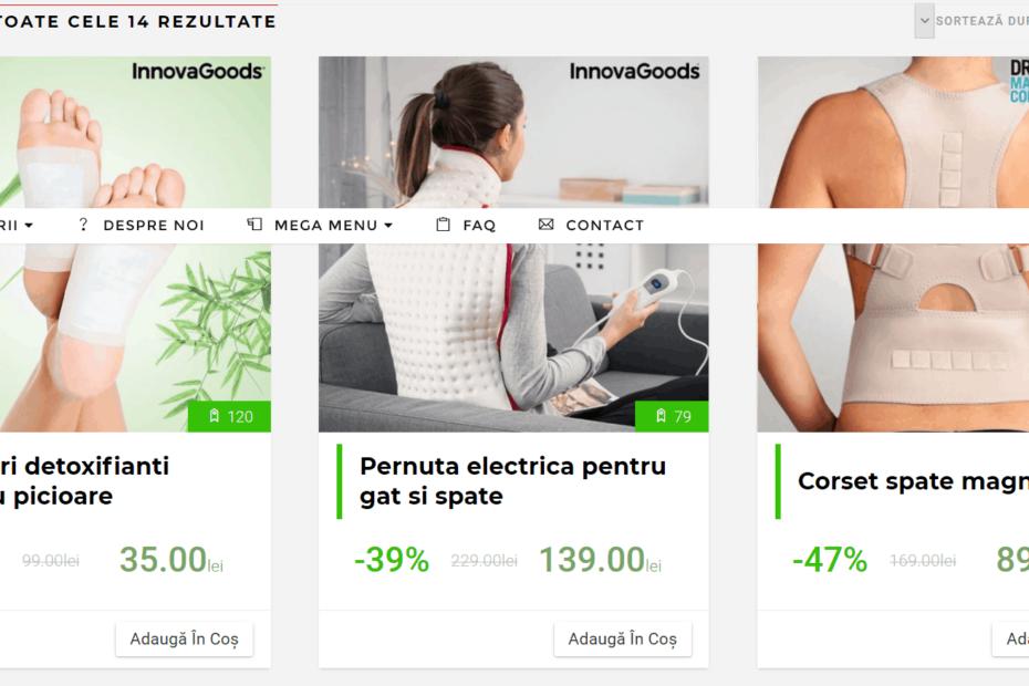 Dezvoltare web custom & Mentenata website