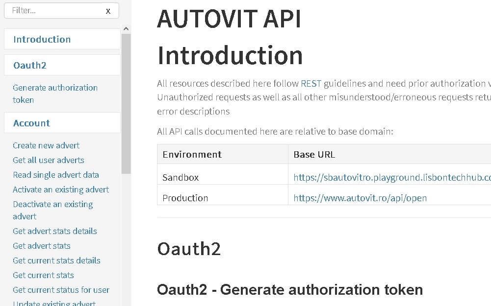 Integrare site Wordpress cu API Autovit si OLX