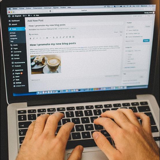 Creare site-uri web WordPress